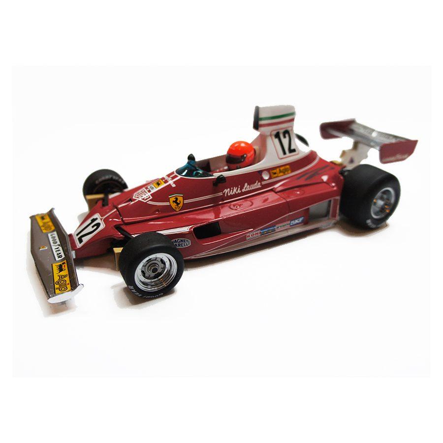Niki Lauda Signed Ferrari Car 1:18 Scale