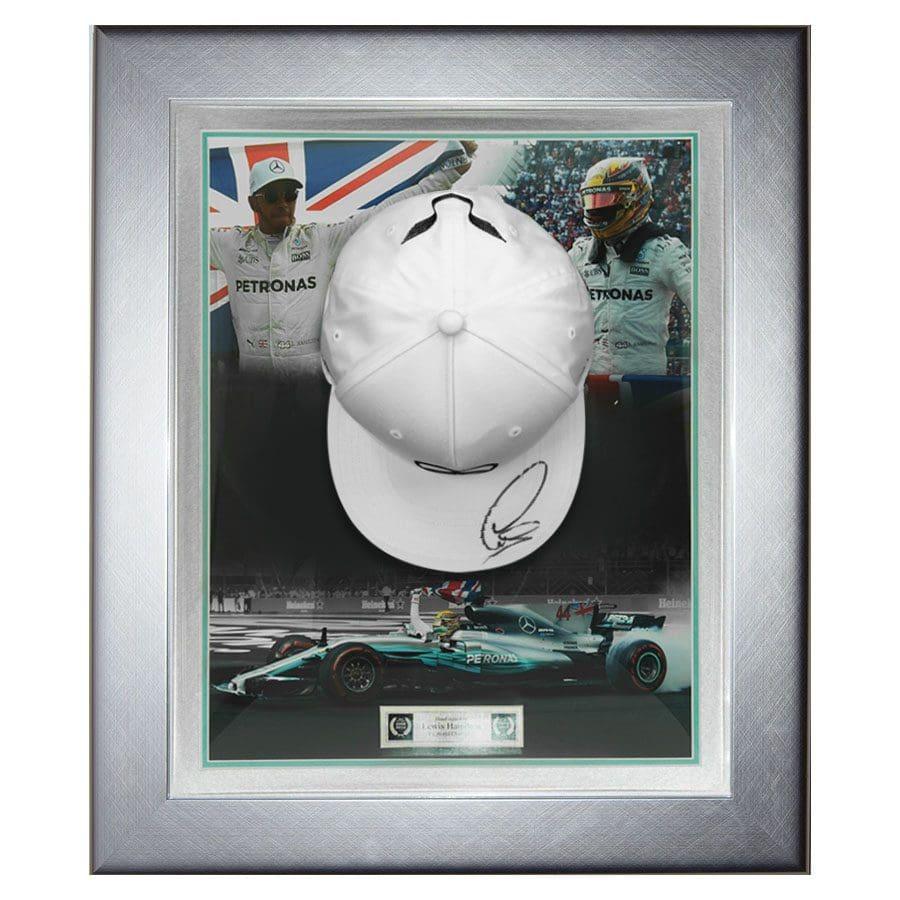 Lewis Hamilton Signed Mercedes Cap