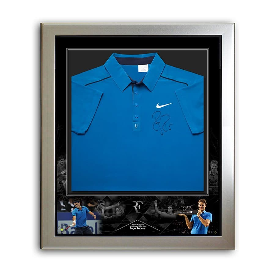 Roger Federer Signed Shirt – Used