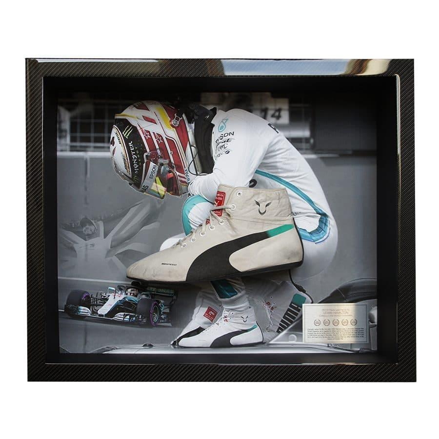 Lewis Hamilton Worn Boot