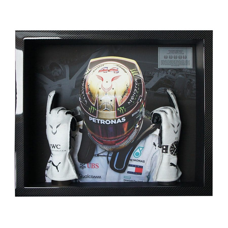 Lewis Hamilton Used Gloves 2018
