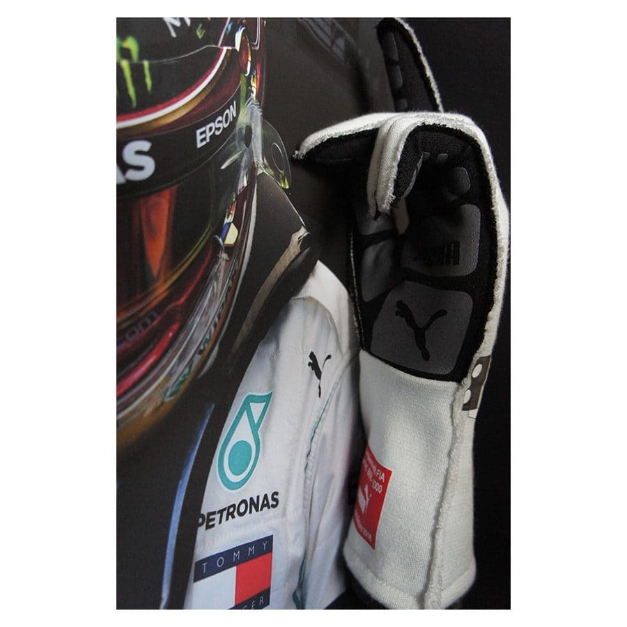 Lewis Hamilton Signed Gloves 2018