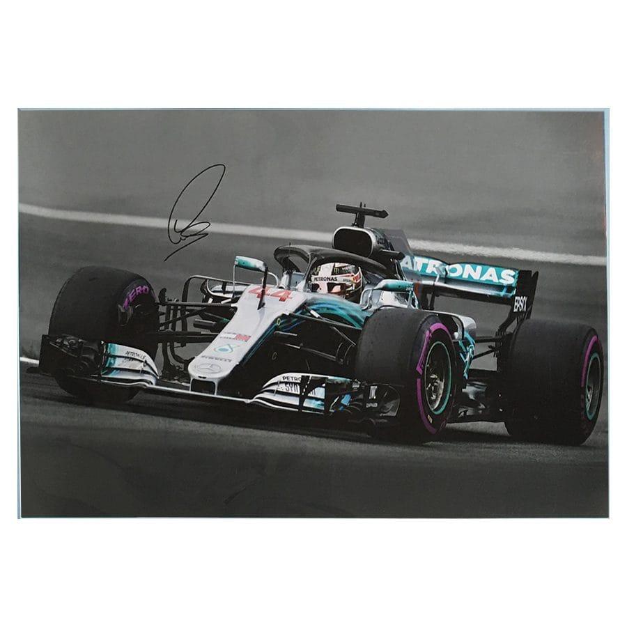 Lewis Hamilton Signed Photo