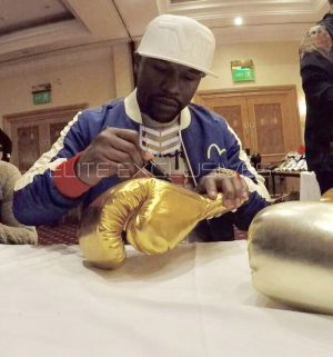 Floyd Mayweather Signed Boxing Glove – Deluxe