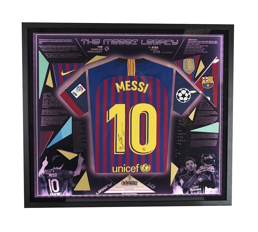 Signed Lionel Messi FC Barcelona