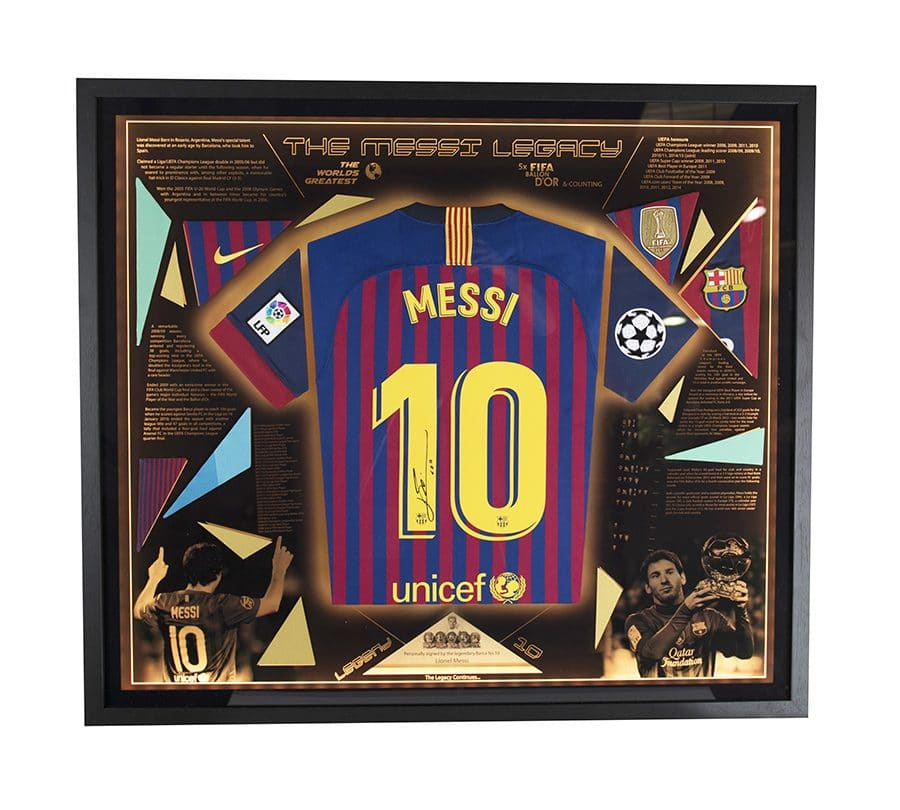 Lionel Messi Signed Shirt – The Legacy