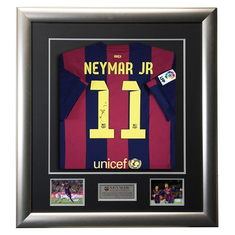 Neymar Jr Signed Shirt
