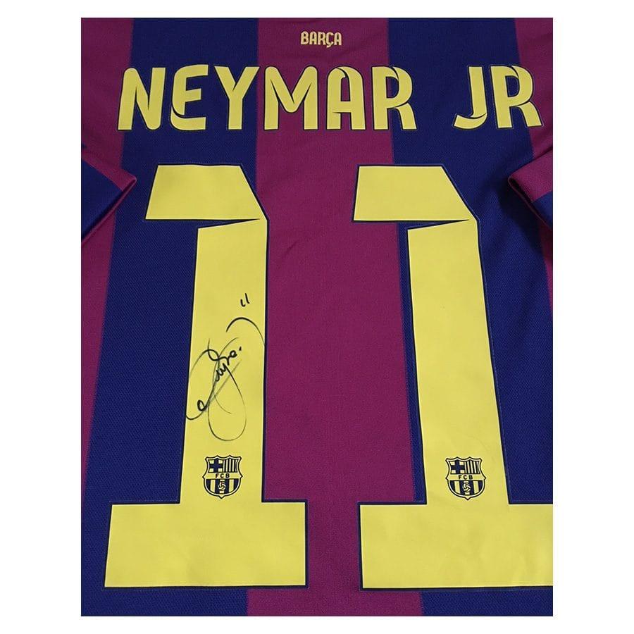 Neymar Jr Signed Shirt