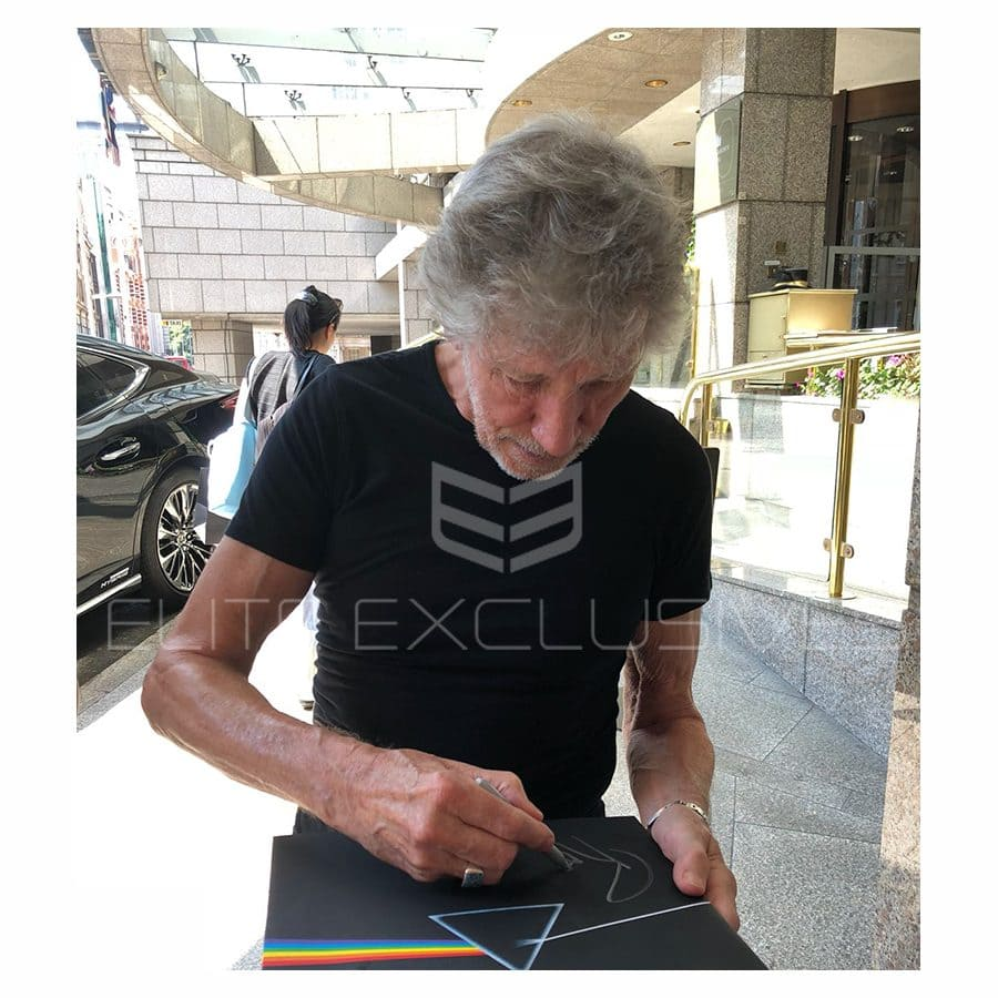 Roger Waters Signed Guitar – Pink Floyd