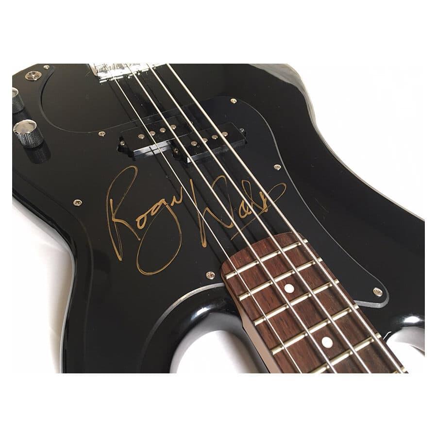 Roger Waters Signed Guitar – Pink Floyd Display