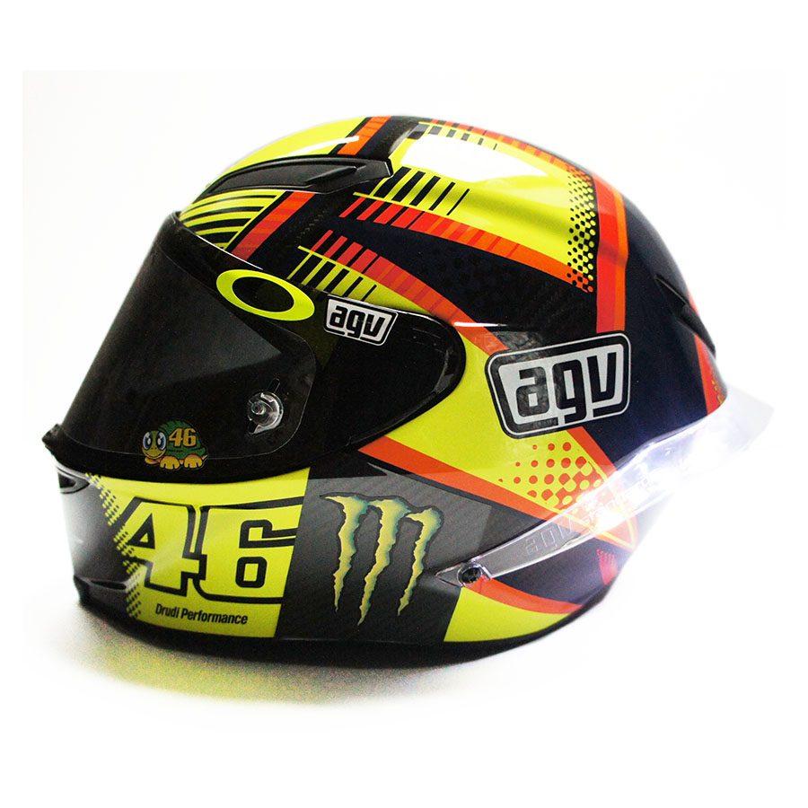 Valentino Rossi Signed Soleluna Helmet