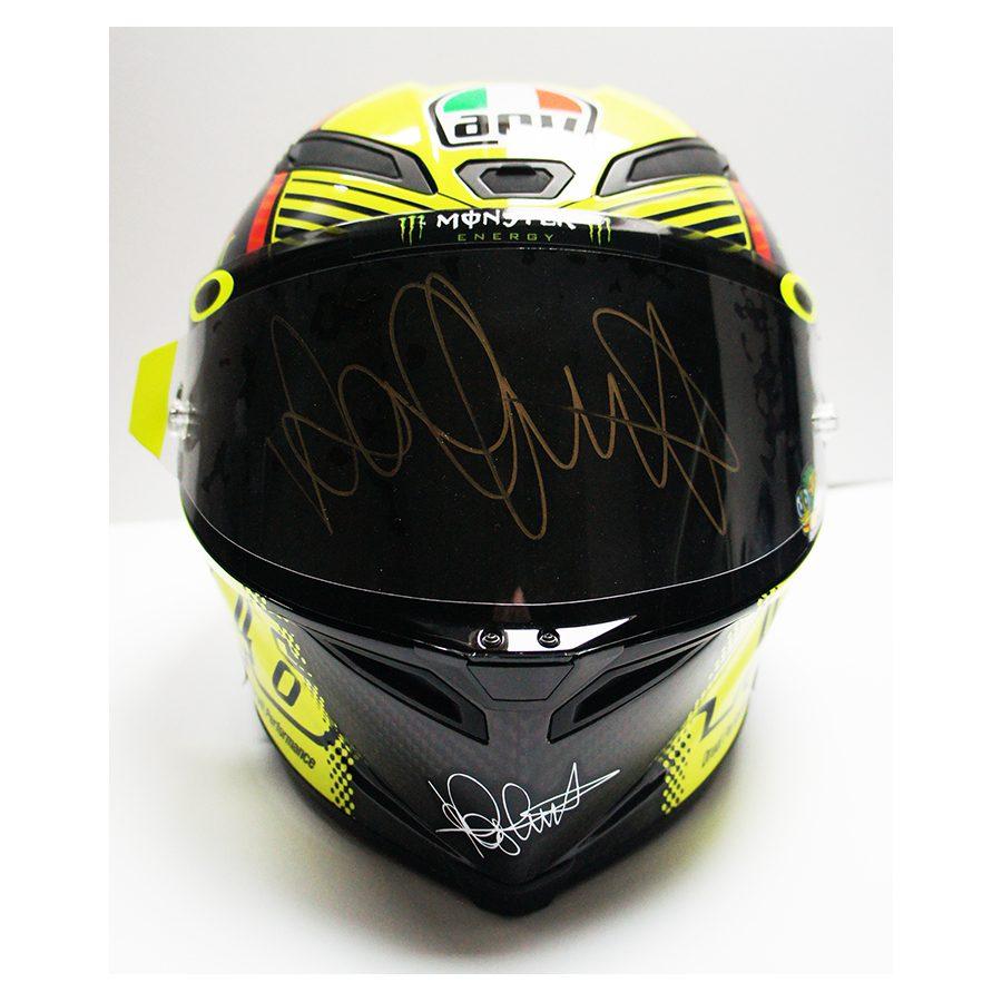 Valentino Rossi Signed Soleluna Helmet Valentino Rossi Signed Soleluna  Helmet d13a643bdcab
