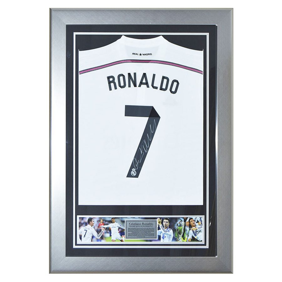 Cristiano Ronaldo Signed Shirt – Real Madrid