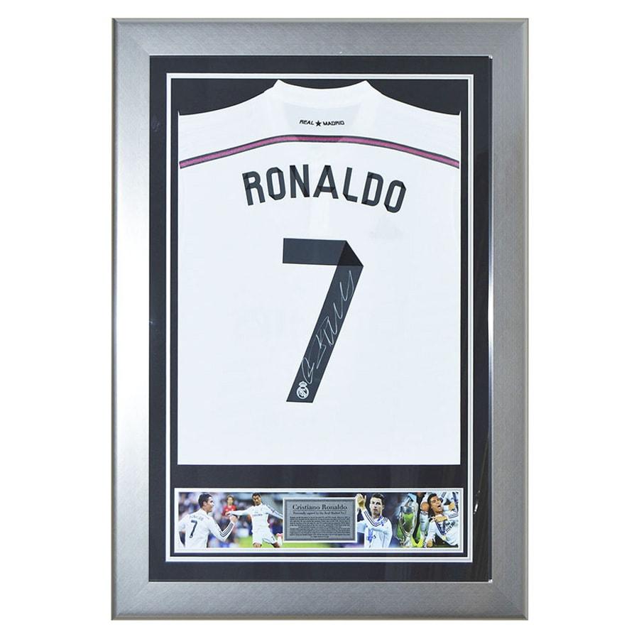 new concept fe3ab d963e Cristiano Ronaldo Signed Shirt - Real Madrid