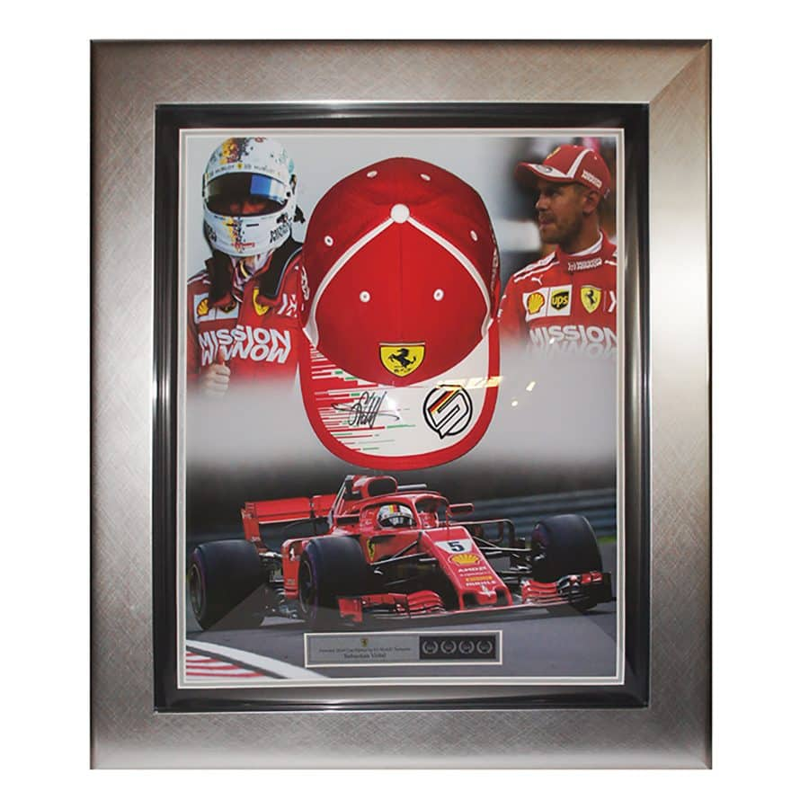 Sebastian Vettel Signed Personal Cap