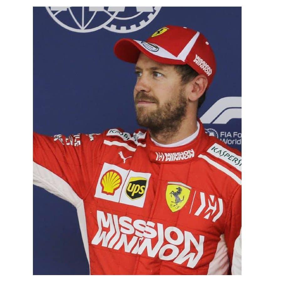 Sebastian Vettel Signed Personal Cap Sebastian Vettel Signed Personal Cap 5d401d42e33f
