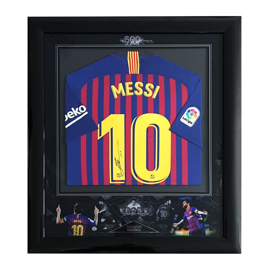 Lionel Messi Signed 2019 Shirt