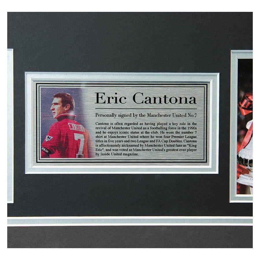 Eric Cantona Signed Shirt