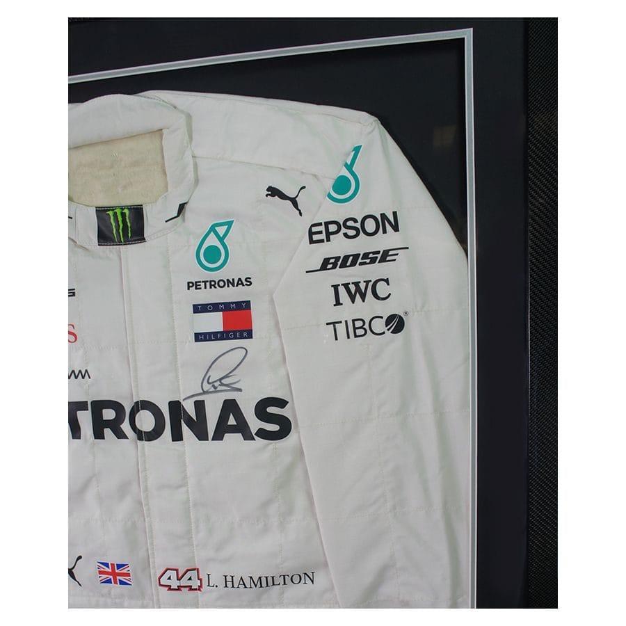 Lewis Hamilton Mercedes 2018 Suit