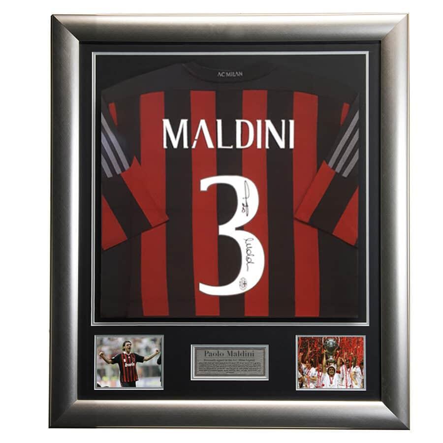 Paolo Maldini Signed Shirt