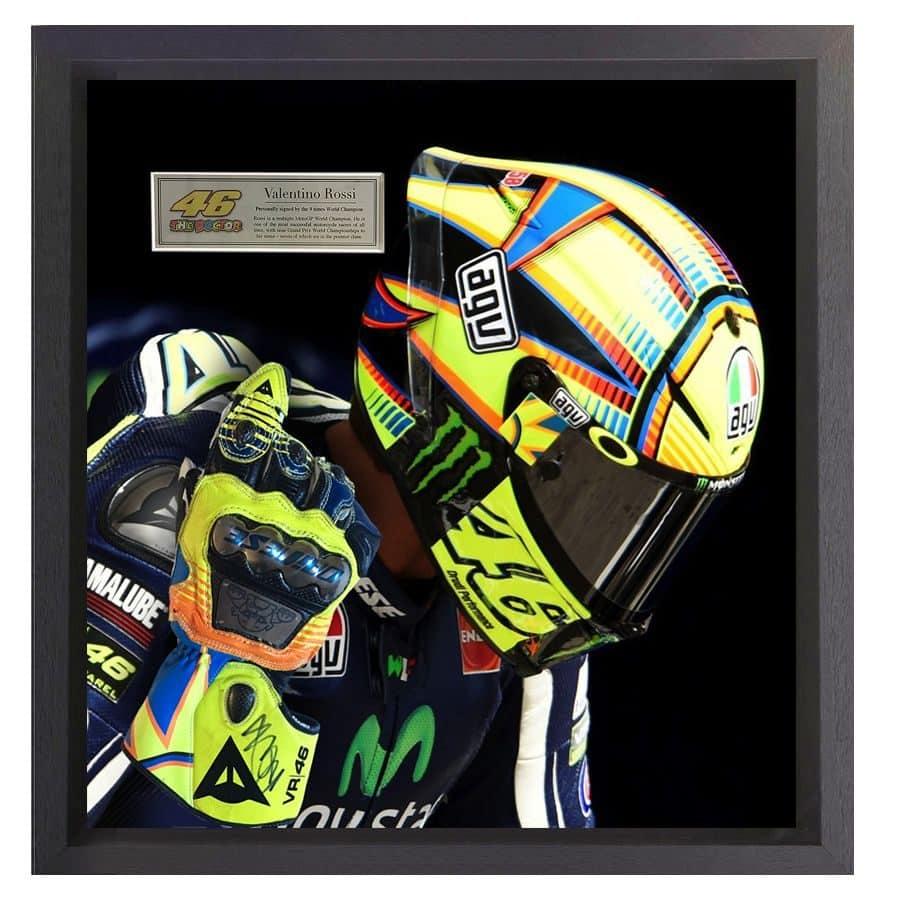 Valentino Rossi Signed Glove