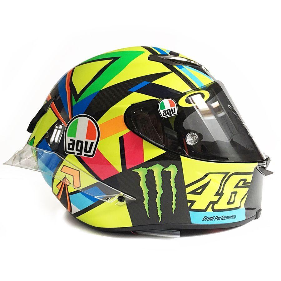 Valentino Rossi Signed Soleluna GP R Helmet