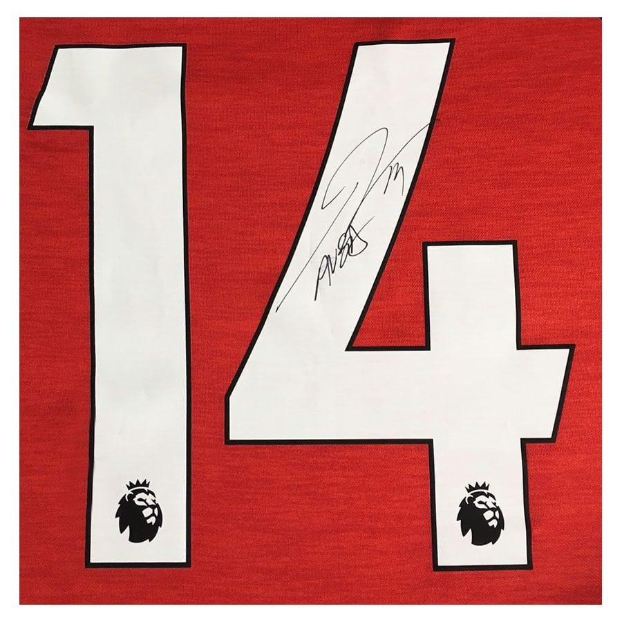 Pierre-Emerick Aubameyang Signed Arsenal Shirt