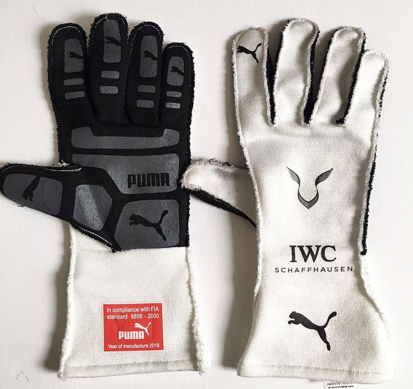 Lewis Hamilton Used Race Gloves