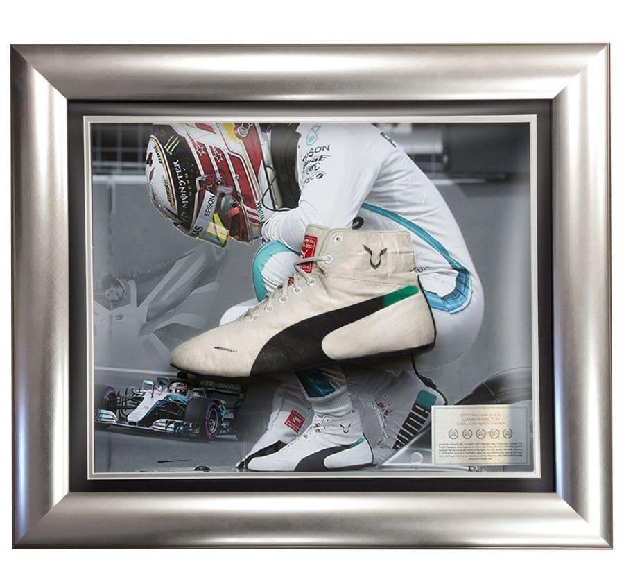 Lewis Hamilton Used 2018 Race Boot