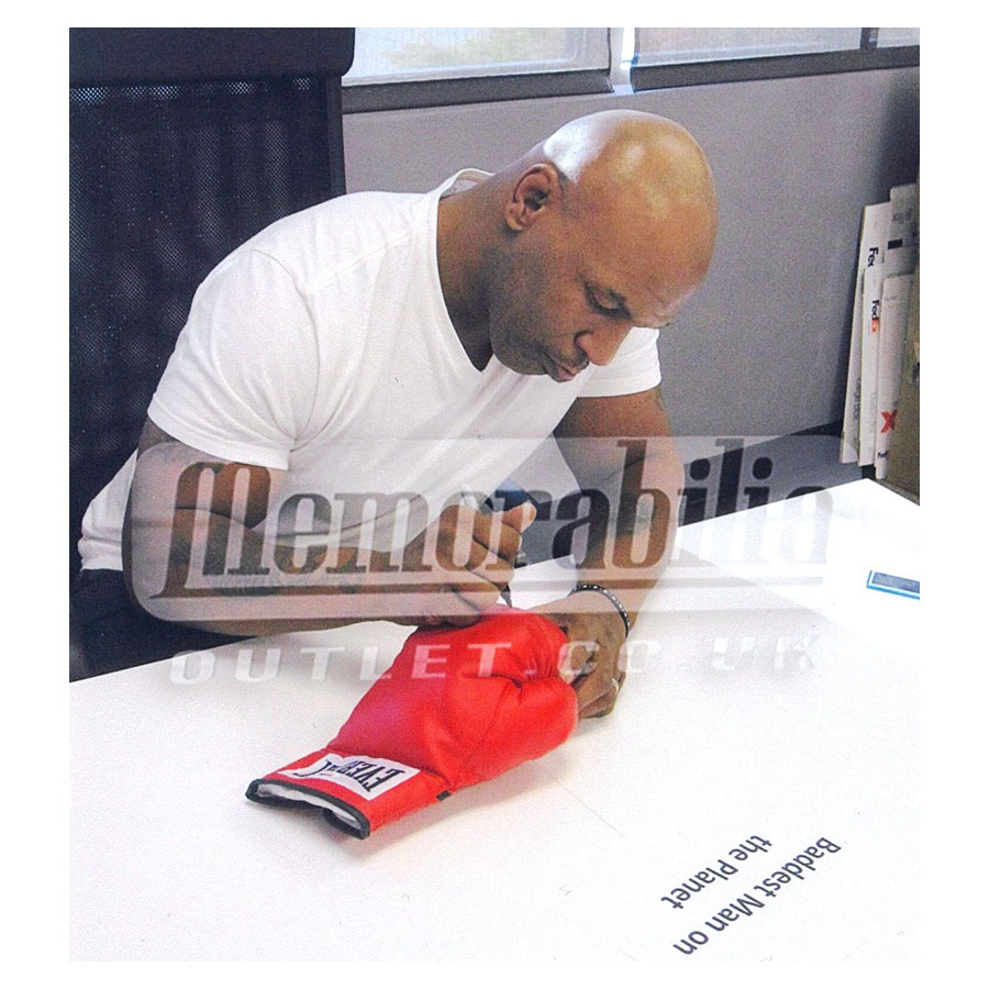 Mike Tyson Signed Boxing Glove – Legacy Framed Display
