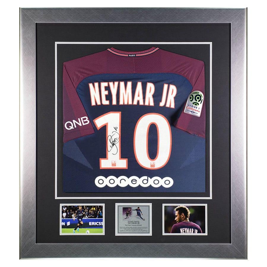 Neymar Jr Signed PSG Shirt