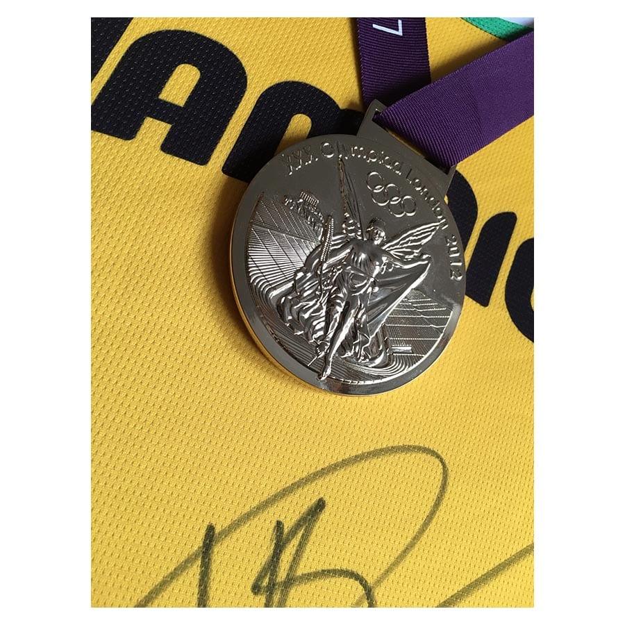 Usain Bolt Signed 2012 Olympic Jamaica Singlet - Elite ...