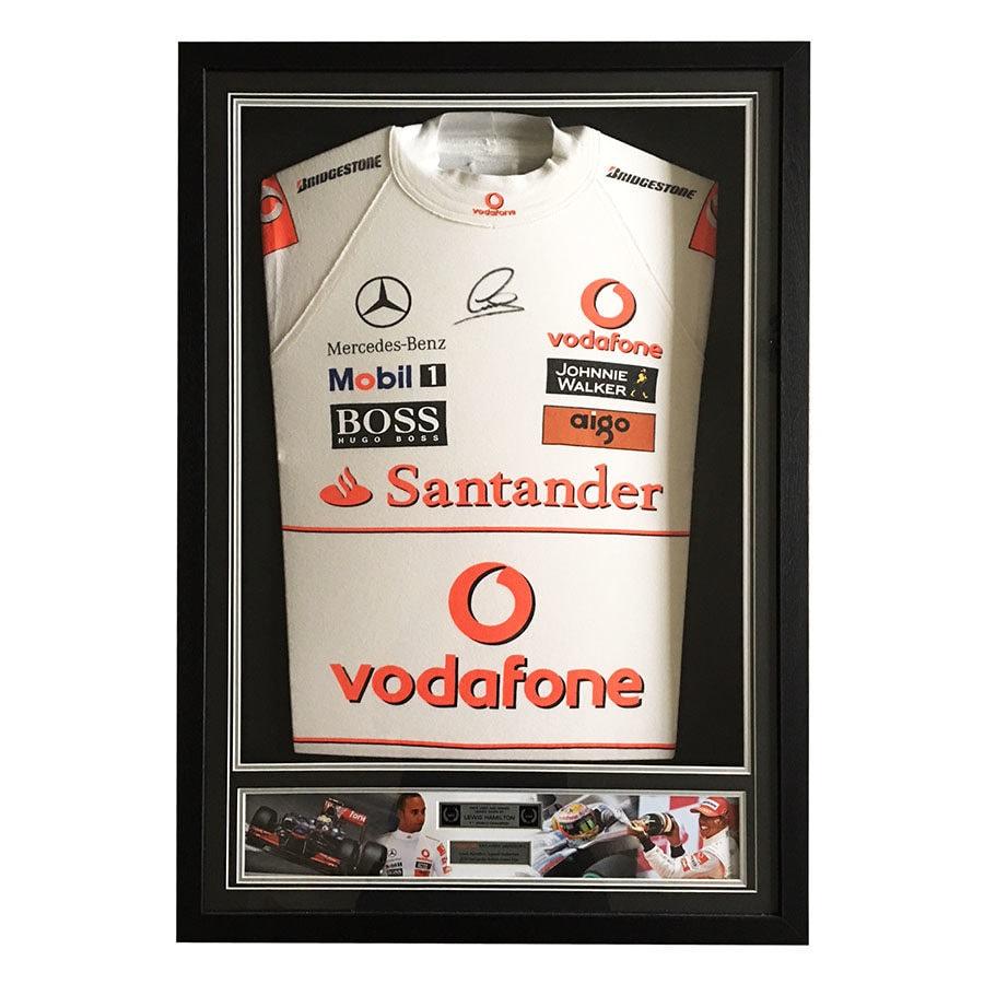 Lewis Hamilton McLaren 2010 Silverstone GP Nomex