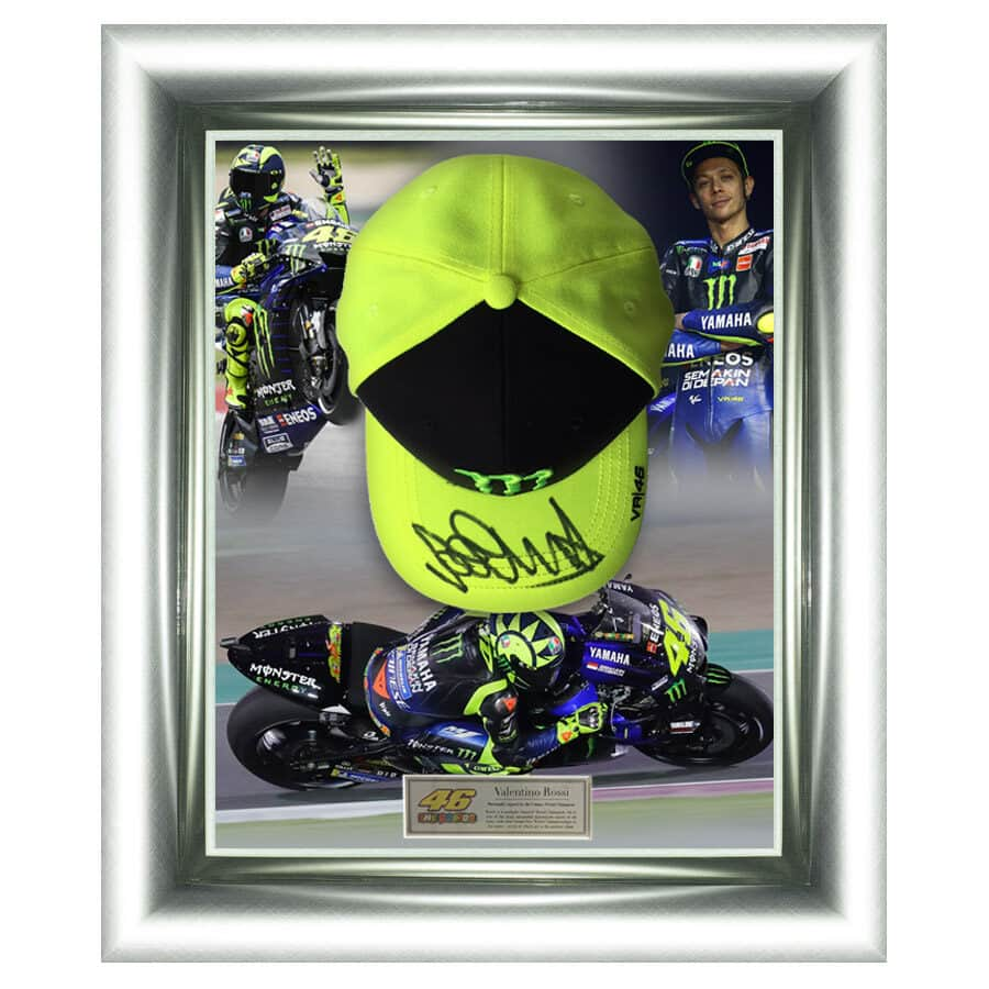 Valentino Rossi Signed Monster VR46 Cap