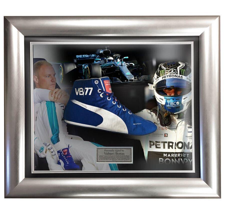 Valtteri Bottas Race Worn Boot 2018