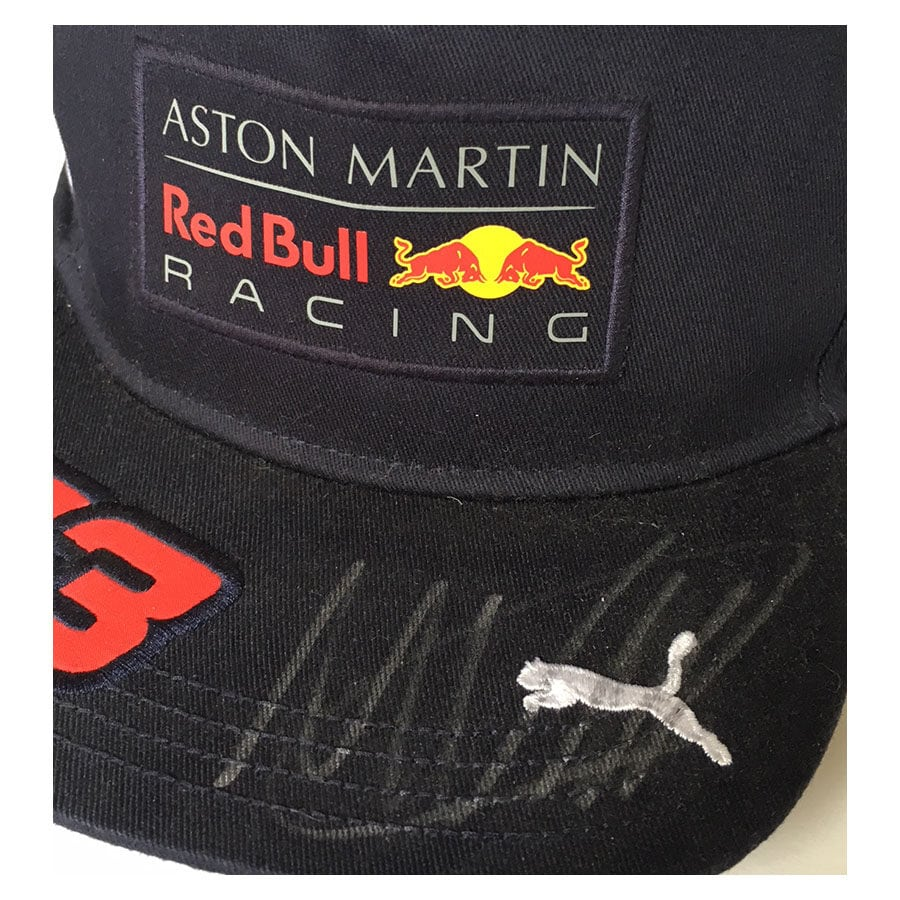Max Verstappen Signed 2018 Personal Cap