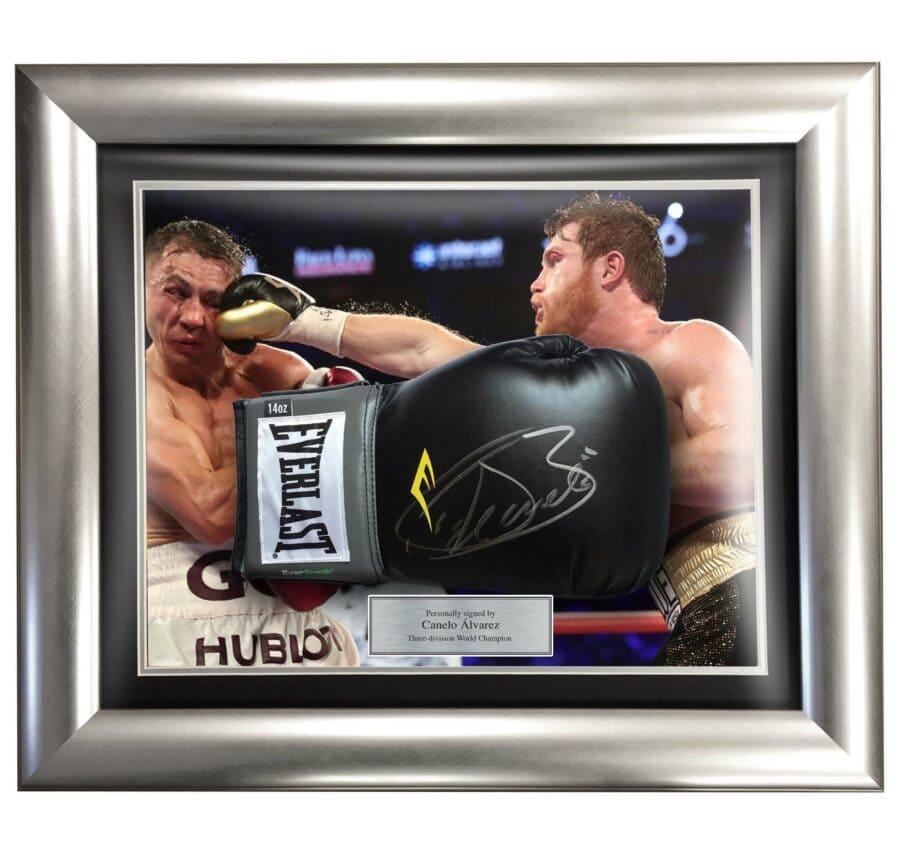 Canelo Alvarez Signed Boxing Glove