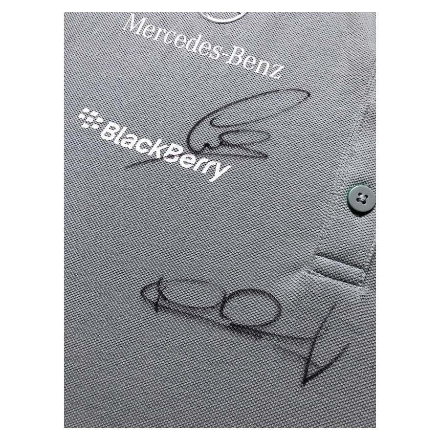 Lewis Hamilton & Nico Rosberg Signed Mercedes F1 Shirt