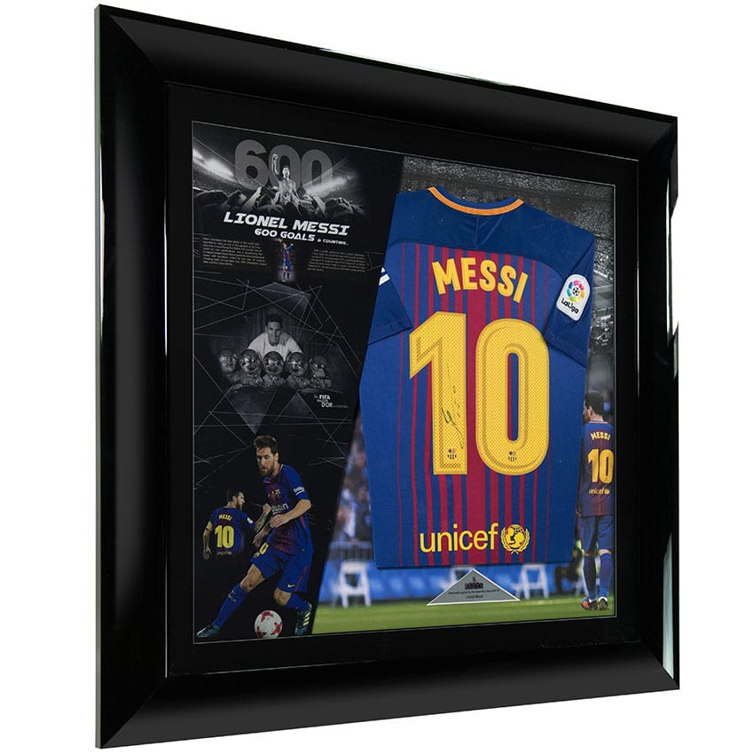 Lionel Messi Signed Player Issue 2017 Shirt