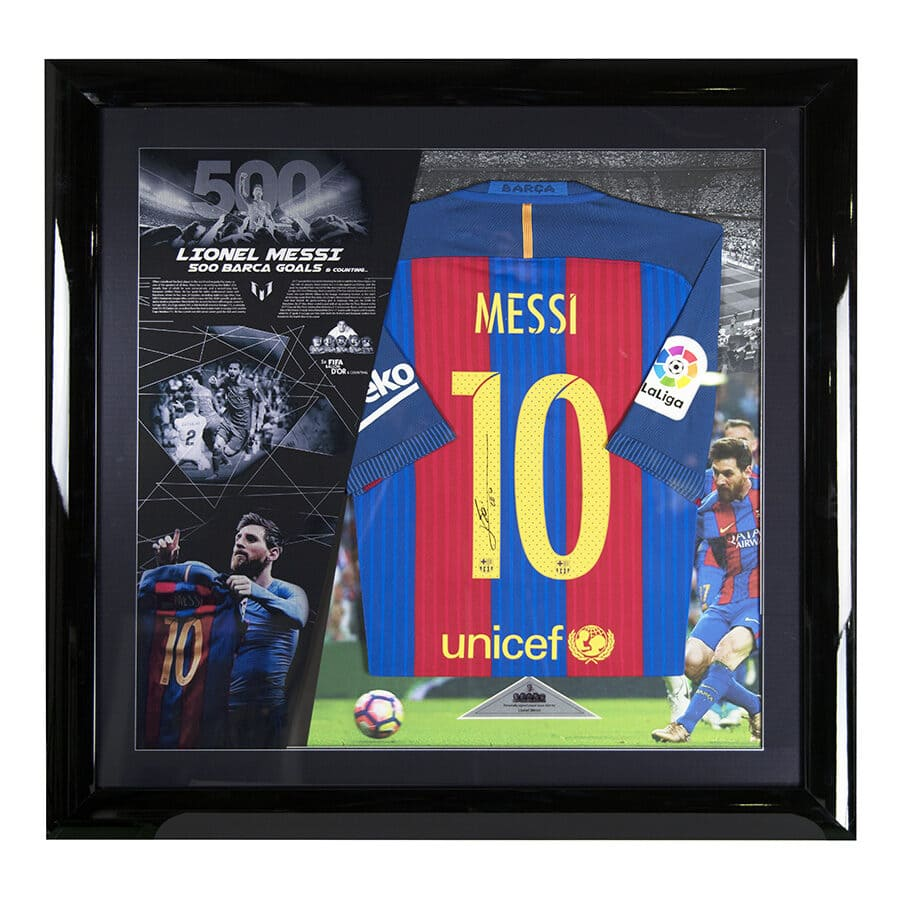Lionel Messi Signed Player Issue Shirt