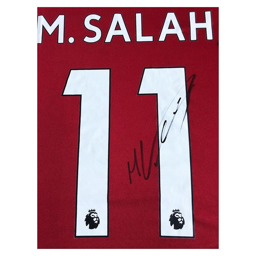 Mo Salah Signed Liverpool FC Shirt