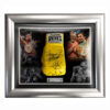 Manny Pacquiao, Freddie Roach and Buboy Fernandez Signed Glove