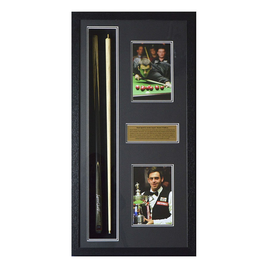 Ronnie O'Sullivan Signed Snooker Cue