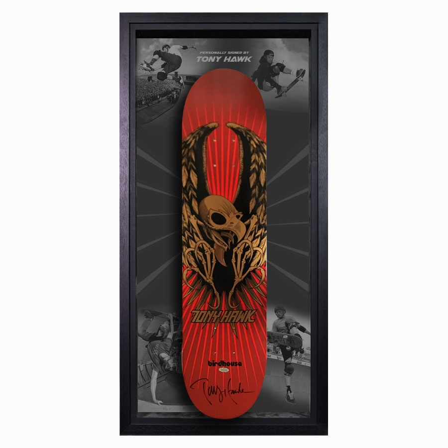 Tony Hawk Signed Skateboard Deck
