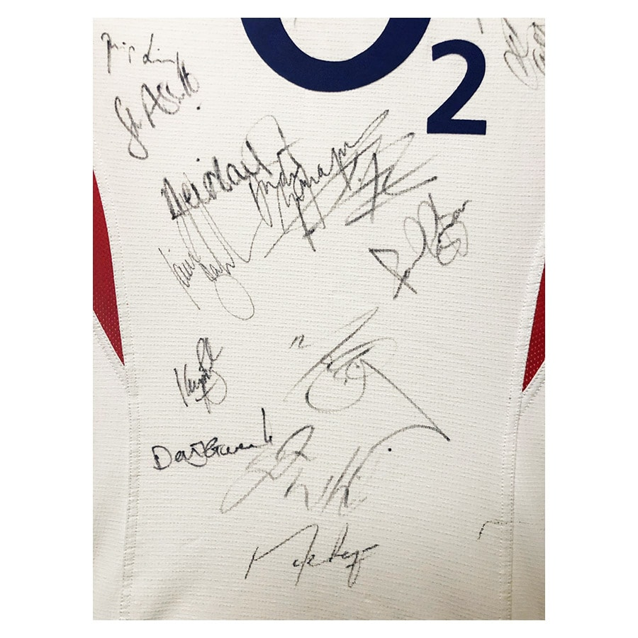 England Rugby Signed Shirt – 2003 World Cup Winners