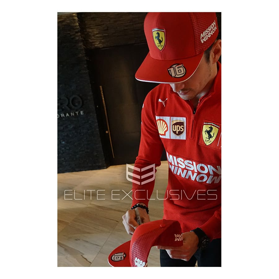 Charles Leclerc Signed Personal Cap
