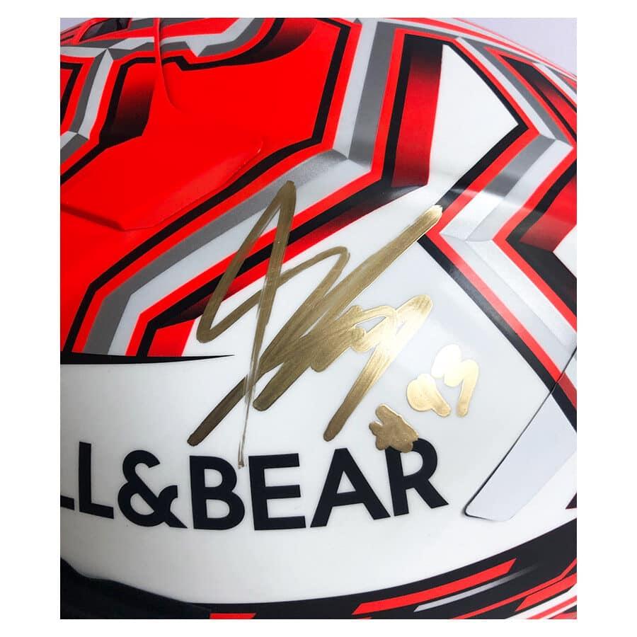 Marc Marquez Signed 2019 Helmet & Race Visor