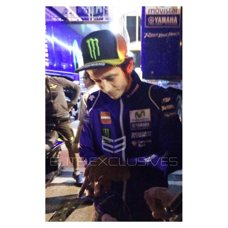 Valentino Rossi Signed AGV Pista Rare Race Spec Visor