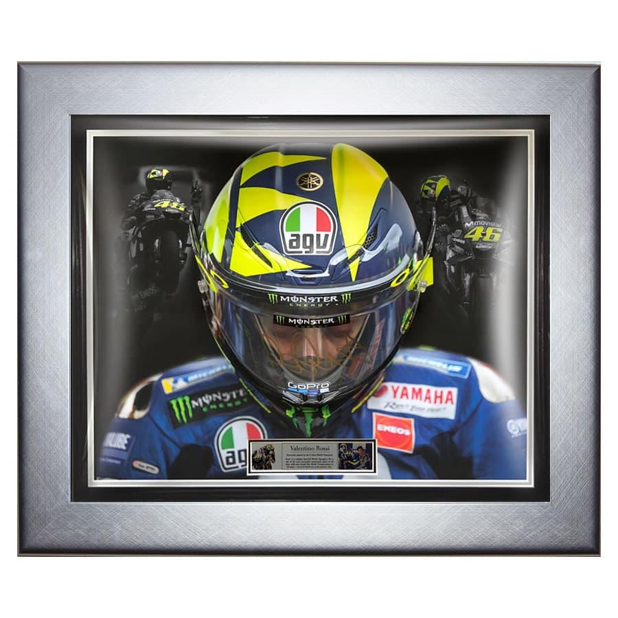 Valentino Rossi Signed AGV Pista Visor
