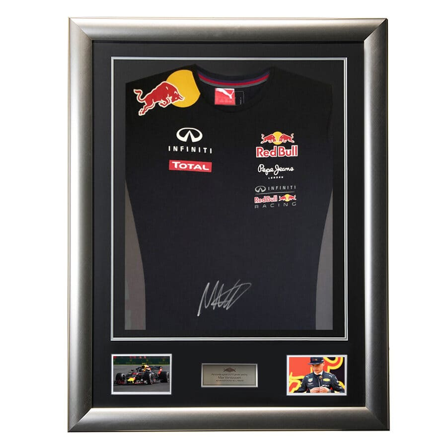 Max Verstappen Signed Red Bull Racing Shirt